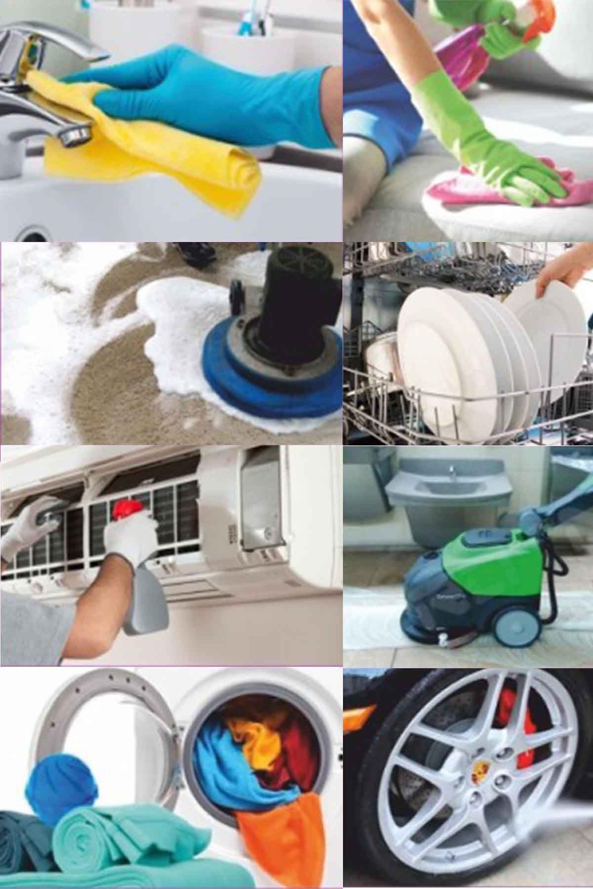 SMX Genel Amaçlı Temizlik Seti 4 Adet