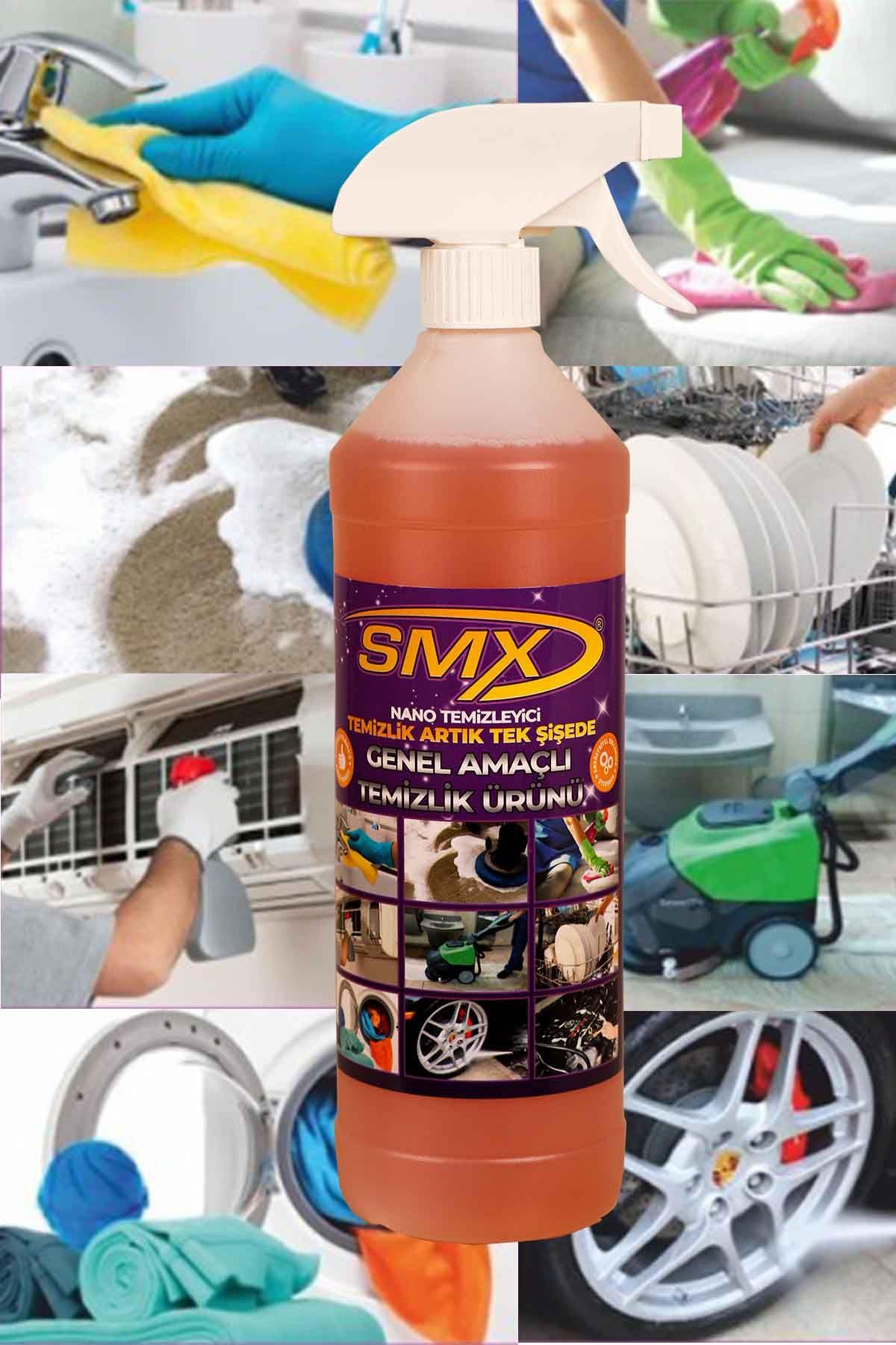 SMX Banyo Temizleyici / Fayans Temizleyici / Derz Temizleyici / Gold Nano Genel Amaçlı Temizleyici / 2'Lİ EV TEMİZLİK SETİ