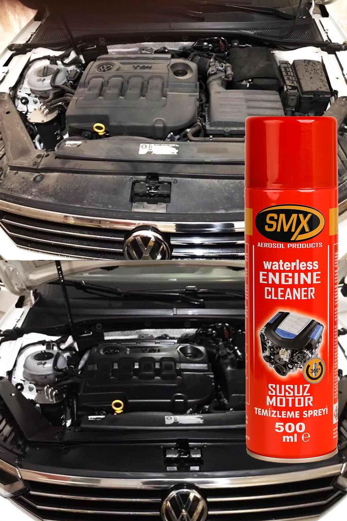 SMX Genel Amaçlı Temizlik Ürünü 2 Adet / Susuz Motor Temizleme Spreyi