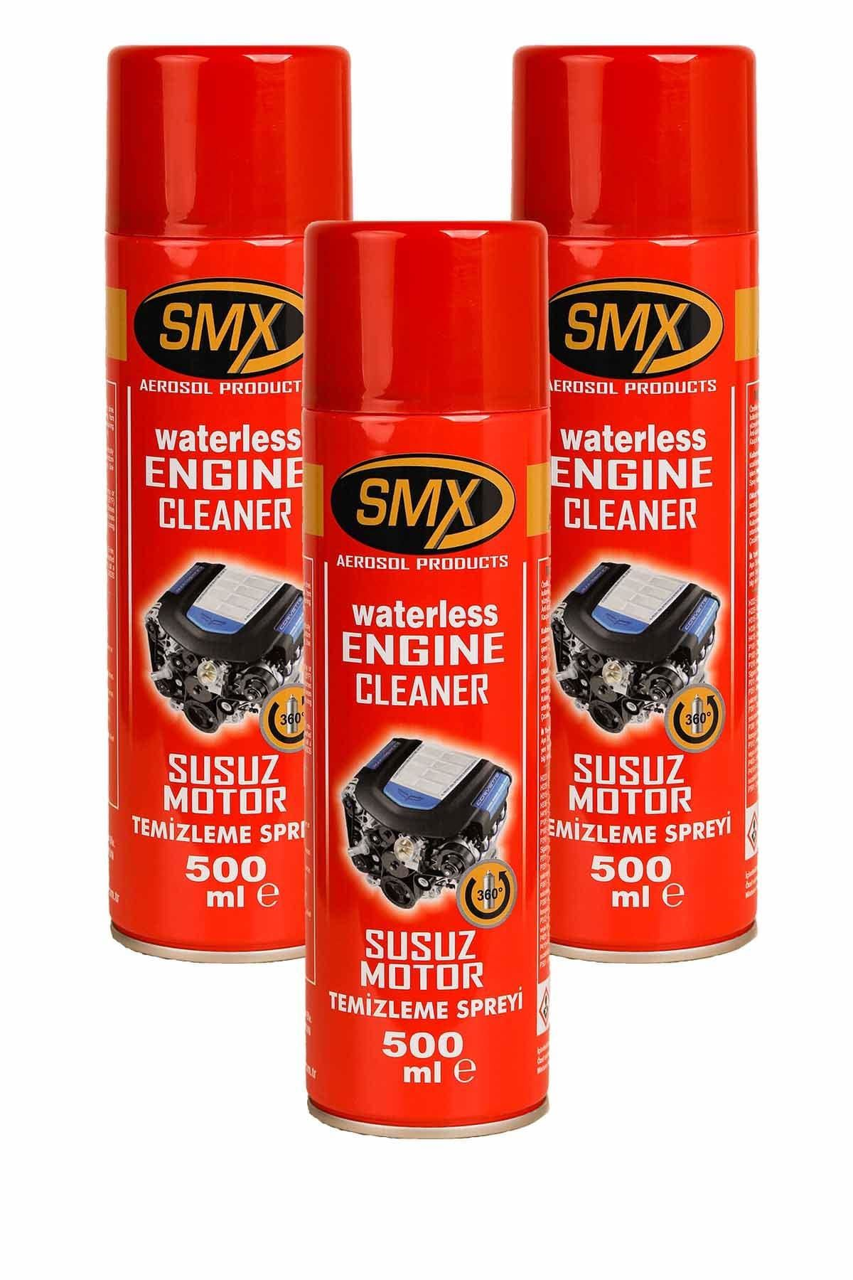SMX Susuz Motor Temizleme Spreyi 3 Adet (3x500 ML)