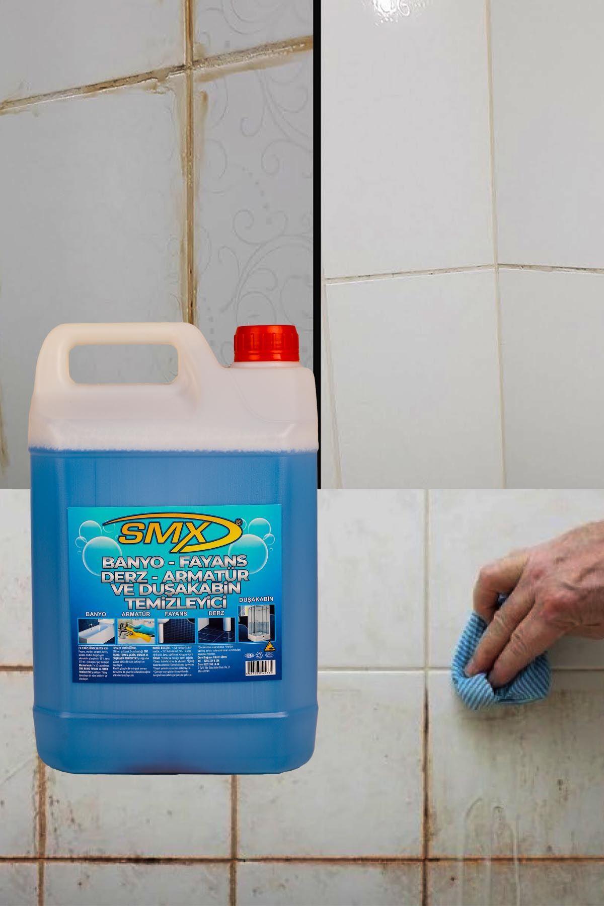 SMX Banyo Fayans Derz Temizleyici (5 LT) / SMX GENEL AMAÇLI TEMİZLİK ÜRÜNÜ (5 LT)