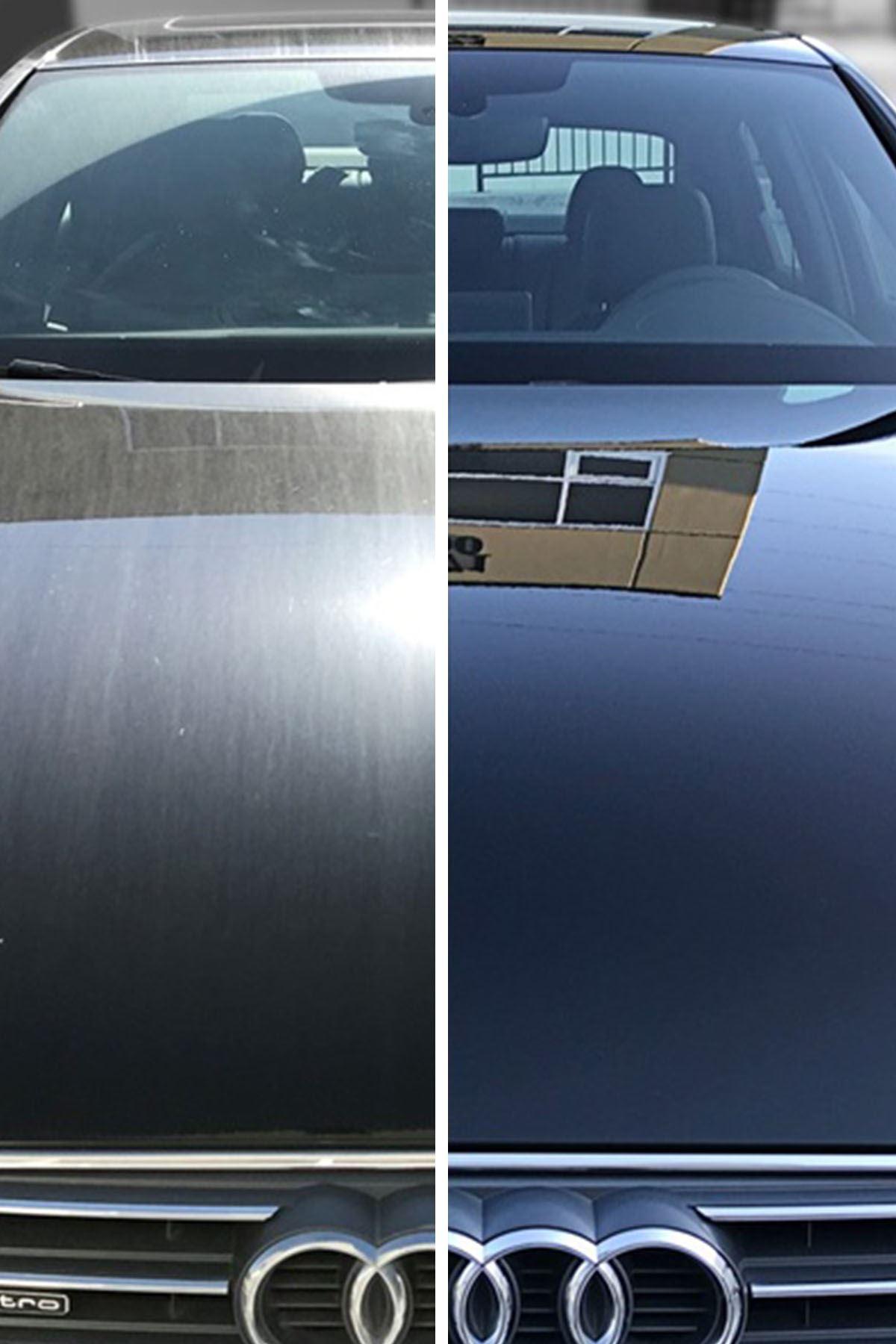 SMX %40 Cilalı Oto Şampuanı (1 LT) SMX Seramik Katkılı Hızlı ve Pratik Cila (1 LT) / SMX Cam Kireç Temizleyici & Kaporta Bezi 40x40