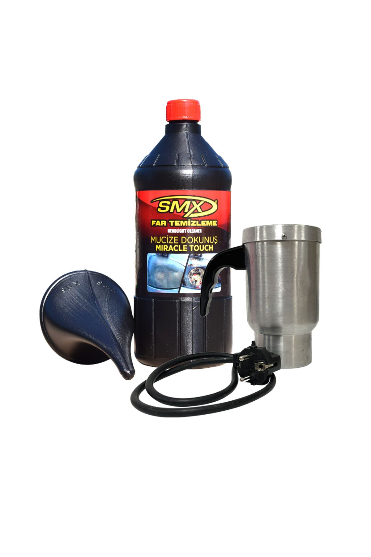 SMX Far Temizleme Sıvısı + Isıtıcı + Huni