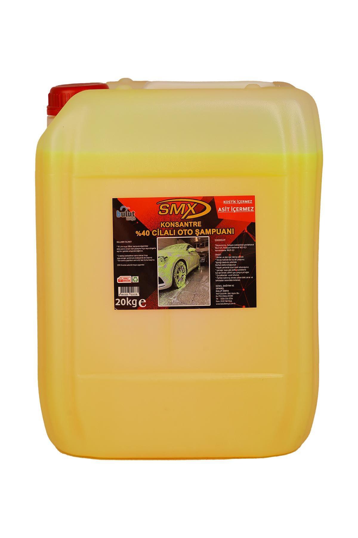 SMX %40 Cilalı Oto Şampuanı (20 LT)