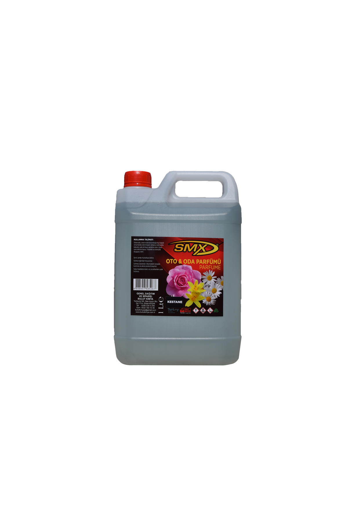 SMX Oto Parfümü / Oda Parfümü / Kestane Koku (5LT)